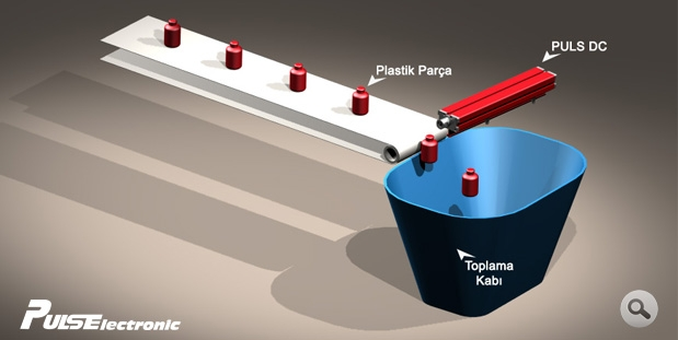Antistatic Application at Conveyors