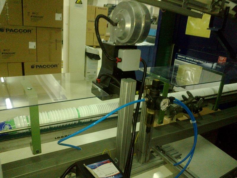 Vakum Şekillendirme Makinasında Statik Uygulaması