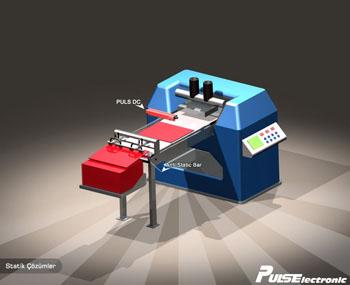 Baskı Makinesinde Statik Elektrik uygulaması