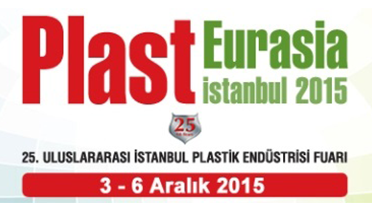PLAST EURASIA 2015 İSTANBUL FUARINDAYIZ