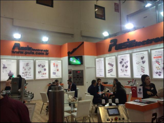 Puls Elektronik , PLAST EURASIA 2018 , Istanbul Turkey