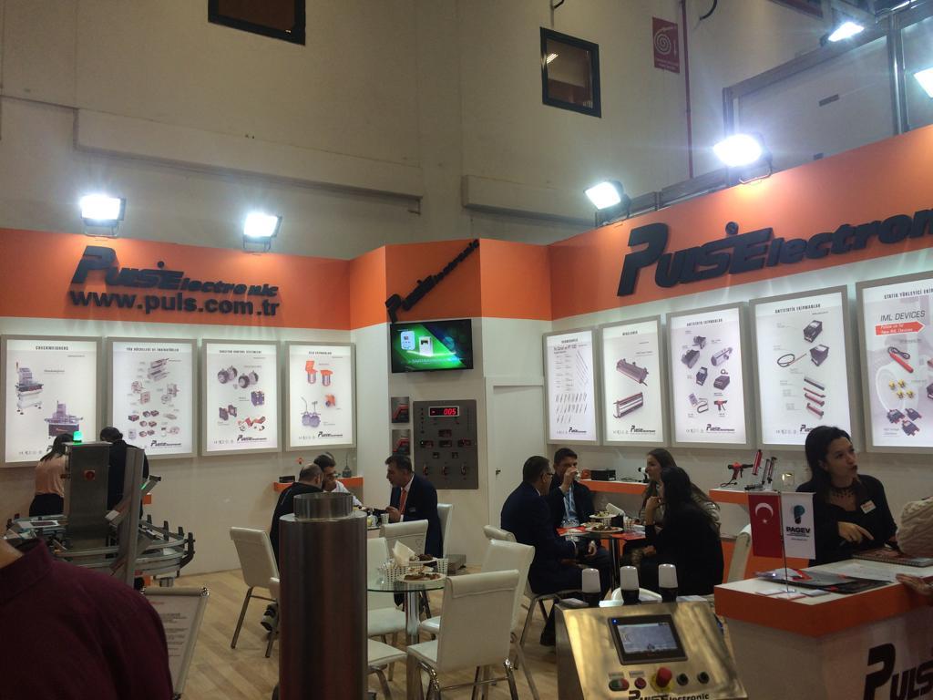 Puls Elektronik , PLAST EURASIA 2018 , Istanbul Turkiye
