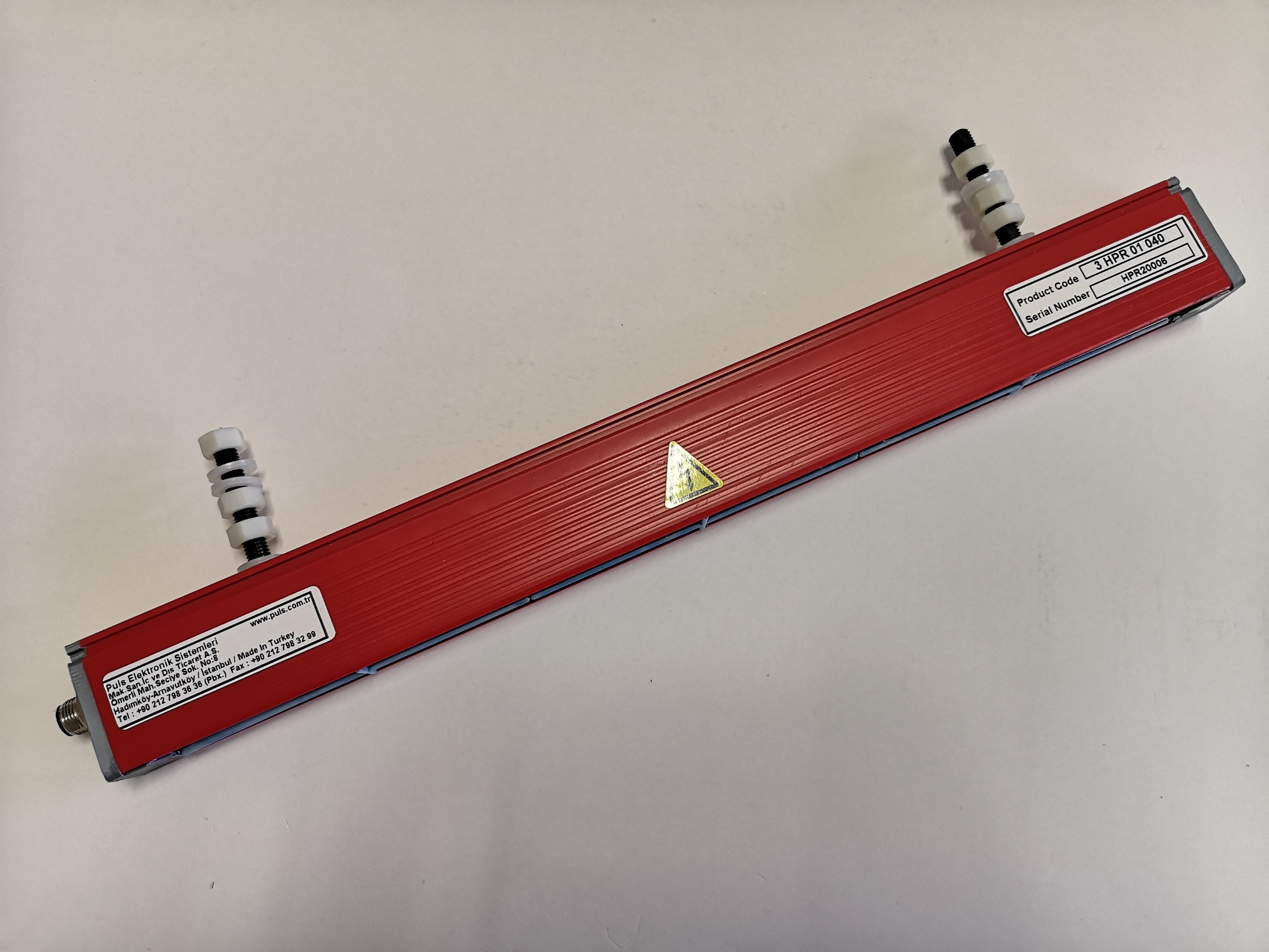 24VDC HIPER Antistatic Ionizing Bar